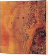 Autumn Haze One Wood Print