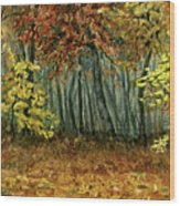 Autumn Hollow Wood Print