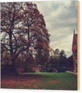 Autumn In Cambridge  Wood Print
