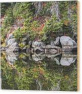 Autumn In Indian Heaven Wood Print