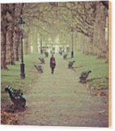 Autumn In London Wood Print