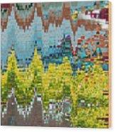 Autumn In Native America Wood Print