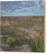 Autumn In Palo Duro Canyon, Texas 1 Wood Print