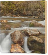 Autumn In Provo Canyon Wood Print