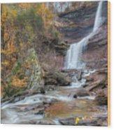 Autumn Kaaterskill Falls Square Wood Print