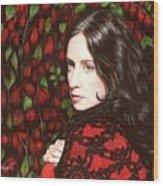 Autumn Lace Wood Print