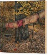 Autumn Linens Wood Print