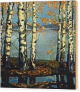 Autumn Wood Print