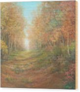 Autumn Majesty Wood Print