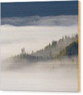Autumn Morn Wood Print