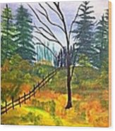 Autumn Morning In The Wild Wood Print