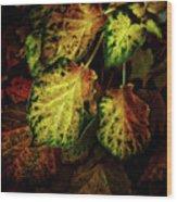 Autumn Motif Wood Print
