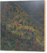 Autumn Mountains Wood Print