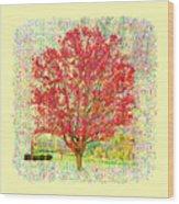 Autumn Musings 2 Wood Print