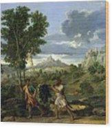 Autumn Nicolas Poussin Wood Print