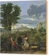 Autumn Wood Print by Nicolas Poussin