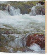 Autumn On Jackson Creek Wood Print