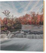 Autumn On The Niagara Wood Print