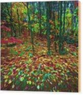 Autumn H5 Wood Print