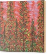 Autumn Vivaldi Wood Print