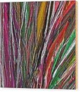 Autumn Reeds Wood Print
