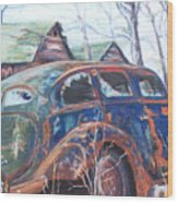 Autumn Retreat - Old Friend Vi Wood Print