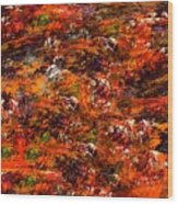 Autumn Riot Wood Print