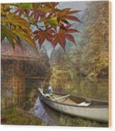 Autumn Souvenirs Wood Print