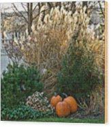 Autumn Still Life Wood Print
