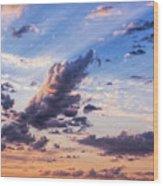 Autumn Sunrise 2 - Lyme Regis Wood Print
