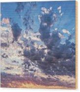 Autumn Sunrise - Lyme Regis Wood Print