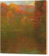 Autumn Symphony Wood Print