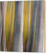 Autumn Timber Wood Print