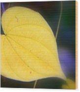 Autumn Whisper Wood Print