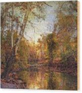 Autumnal Tones 2 Wood Print