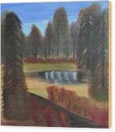Autumn's Arrival Wood Print