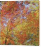 Autumn's Fire Wood Print