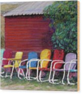 Available Seating Wood Print