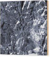 Avalanche Bw Wood Print