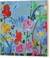 Avant Garden Wood Print