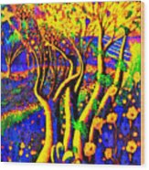Avatar Forest - Pa Wood Print