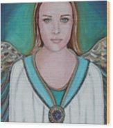 Avenging Angel Wood Print