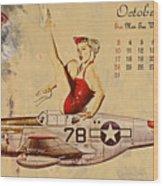 Aviation 1953 Wood Print