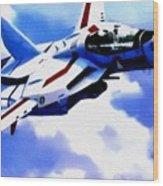 Aviation Art Catus 1 No. 1 19 H B Wood Print