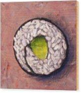 Avocado Sushi 03 Wood Print
