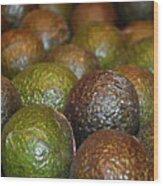 Avocados Wood Print
