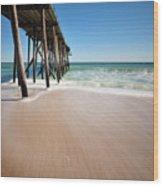Avon By The Sea Wood Print