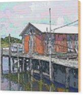 Avon Dock Wood Print