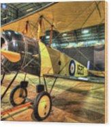 Avro 504k Wood Print
