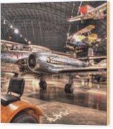 Avro Cf-100 Mk Iv Canuck Wood Print